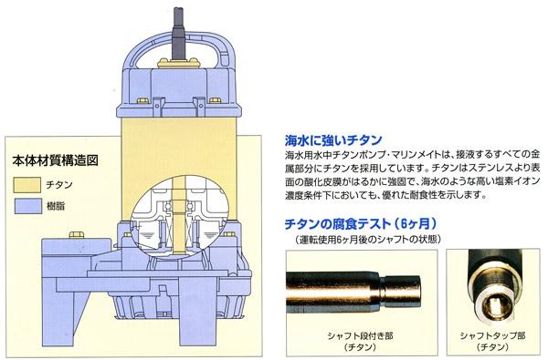 海水用ポンプ