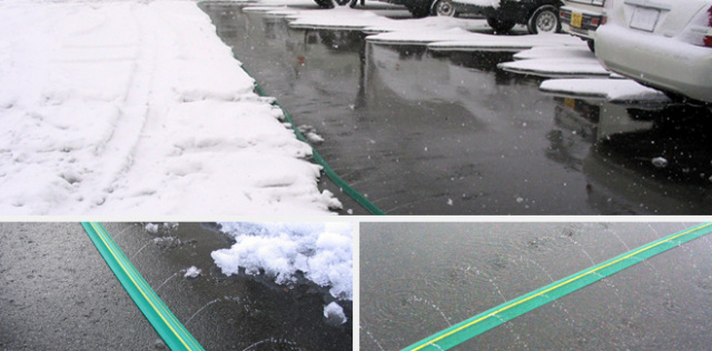 消雪ホースイメージ